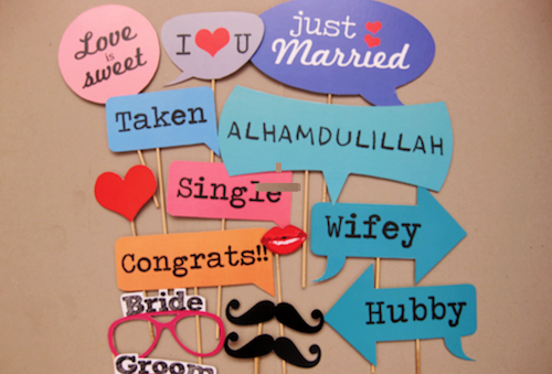 Malay Wedding Instant Print Photobooth Singapore